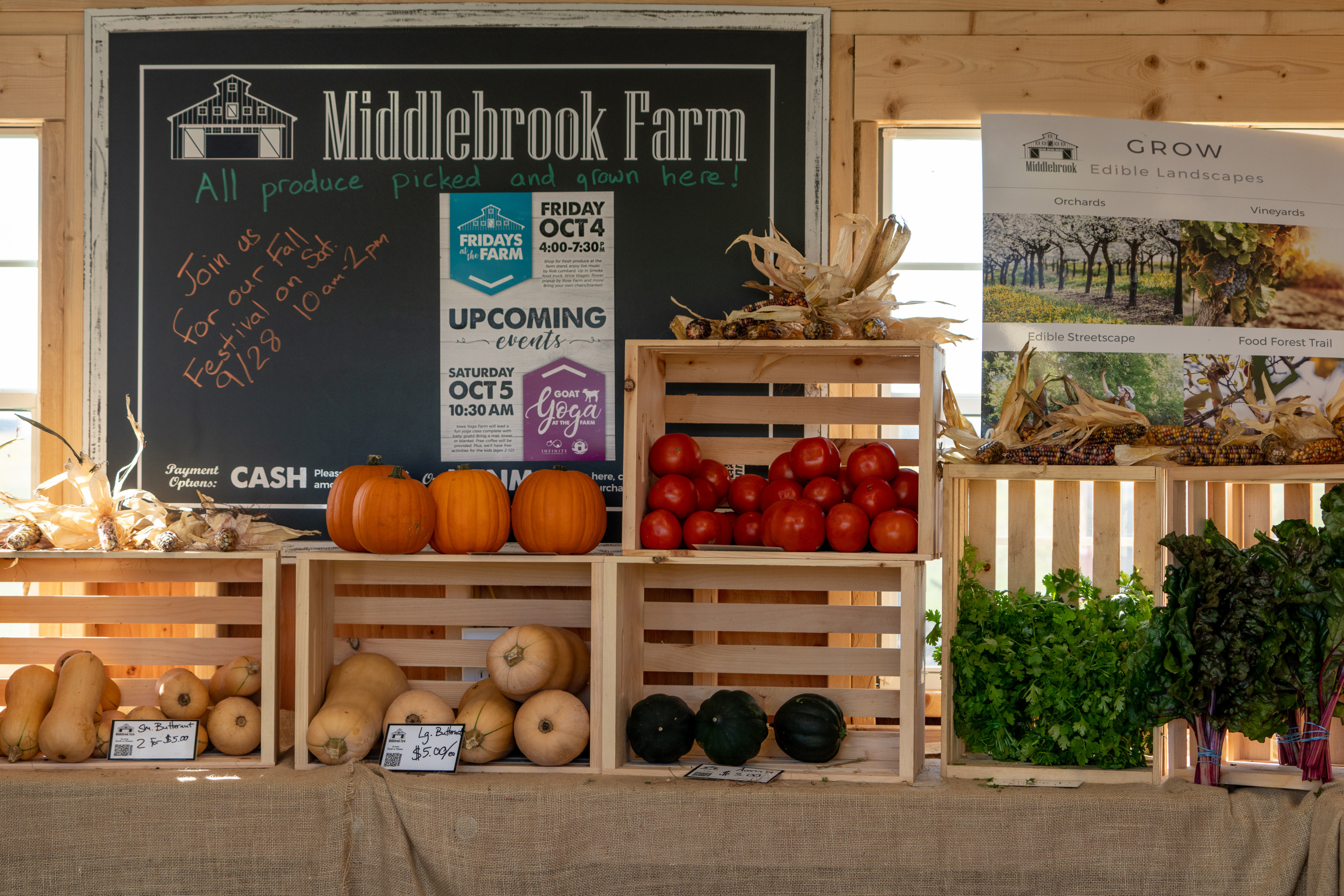 Middlebrook Farm Stand Produce